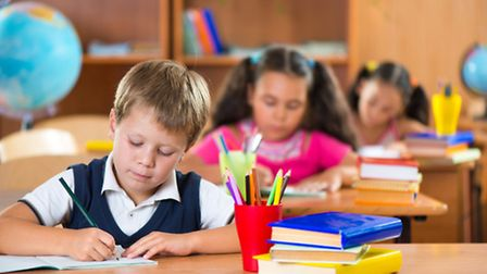 Were told that tomorrows children may need bigger desks to reflect their larger size. Photo: Thinkst