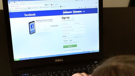 Jayne Evans has given Facebook her very own thumbs-up. Picture: Peter Byrne/PA Wire.