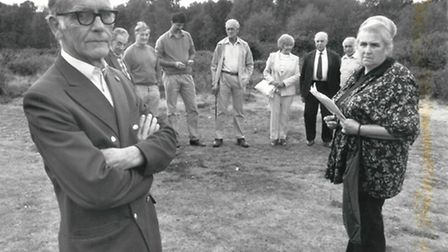 Pat Siano with Mousehold Defenders on 26th September 1989. Photo from Archant Library