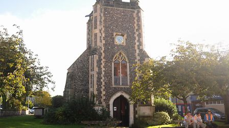 St Saviour's Church, the home of the Thalia Theatre Company for disabled adults. Picture: DENISE BRA