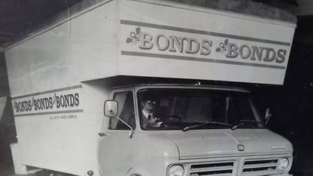 This is yours truly in the early 70s at Bonds All Saints Green. The picture was used by Bond's to en