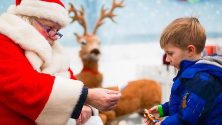 Wroxham Barns Santa Party. Picture by Richard Jarmy