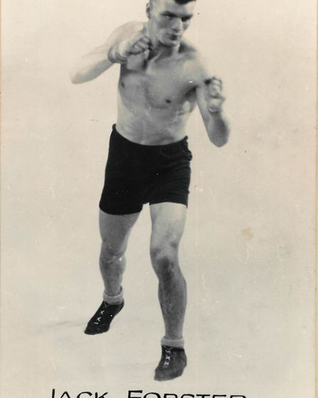 Can anyone fill us in on the life and career of this boxer?