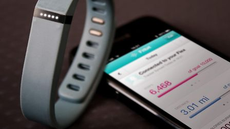 Fitbit One Wireless Activity and Sleep Tracker. Picture PA Photo/Handout.