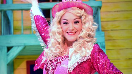 Harriet Bunton as Dolly The Fairy in Jack and the Beanstalk and Norwich Theatre Royal. Photo: Simon