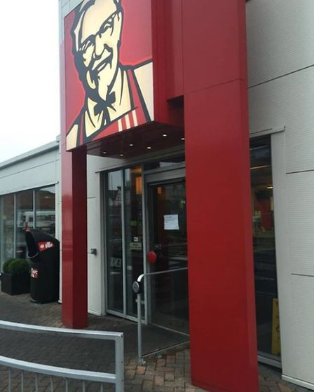 The KFC restaurant on Mile Cross Lane has closed. Picture Archant Library.