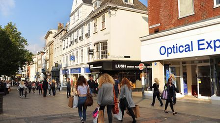 Gentleman's Walk, the location of the new NatWest branch in the city centre. Picture: Denise Bradley