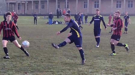Farmhouse suffered a surpise 2-0 defeat to Norman Wanderers. Picture: SUPPLIED