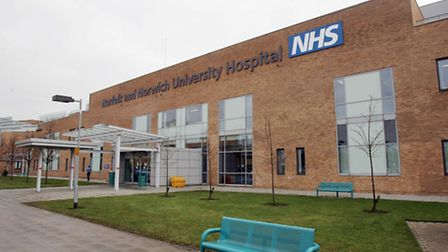 Around 12pc of patients who leave the Norfolk and Norwich University Hospital are readmitted within