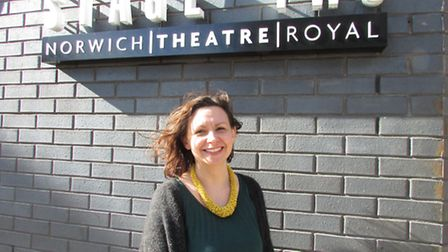 Jo Reil, Deputy Director of Theatre Arts Courses at Norwich Theatre Royal, who is currently directin