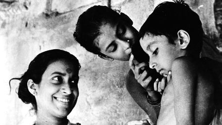 A scene from 1955 film Pather Panchali, set in India.