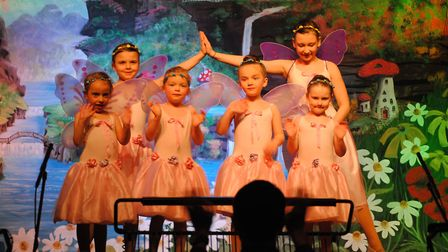 Performers in Hethersett Pantomime Group's 2017 production of Sleeping Beauty. Picture: Hethersett P