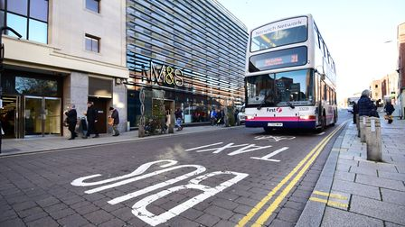 Is the signage up to scratch on Rampant Horse Street. Picture: Antony Kelly