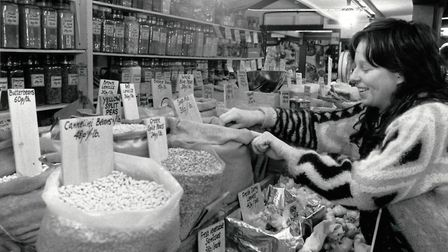 Health food stall. Photo: Archant Library