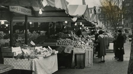 Market stall extensions. Photo: Archant Library