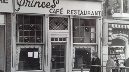 The wonderful Princes cafe and restaurant on Guildhall Hill in Norwich. Photo: Archant Library