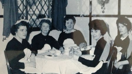 The waitresses at Princes taking a break. Photo: June Smith