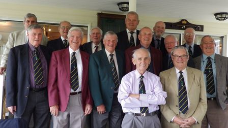 Richmond Park members who attended the Past Senior Captain's Cup lunch. Picture: Club