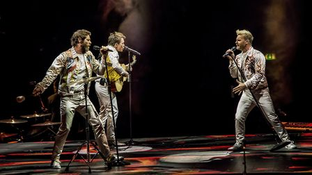 The opening night of Take That's Wonderland tour at the Genting Arena in Birmingham.Photo: Martin Du