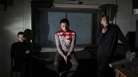 Russian psych-rock trio Gnoomes who are playing the Open venue. Picture: Submitted