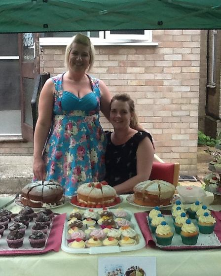 Staff at Thorp House nursing home's fete. Picture: Kingsley Healthcare