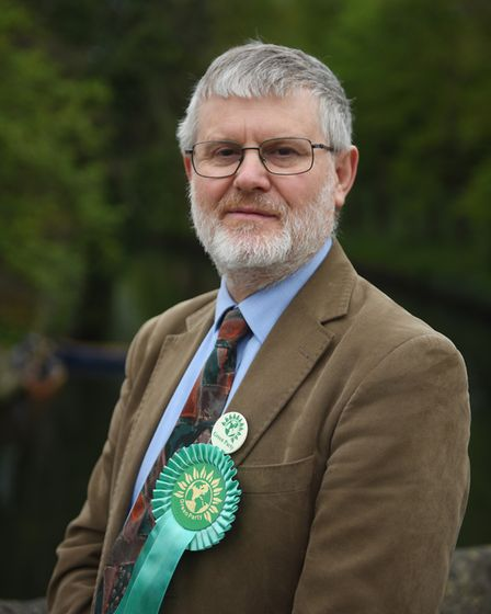 Green Broadland candidate Andrew Boswell. Picture : ANTONY KELLY