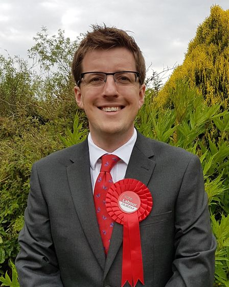 Iain Simpson, Labour candidate for Broadland. Pic: Labour Party.