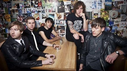 Pigeon Detectives. Picture: Tom Martin