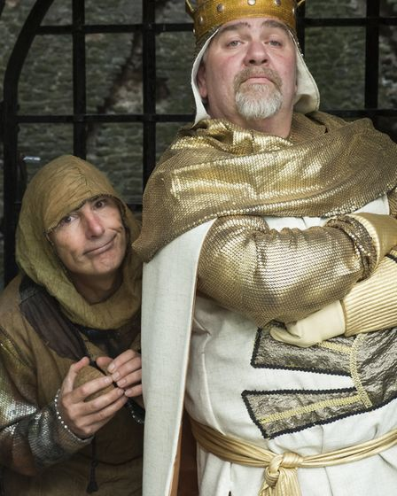 Threshold Theatre is staging the musical Spamalot, based loosely on Monty Python and the Holy Grail,