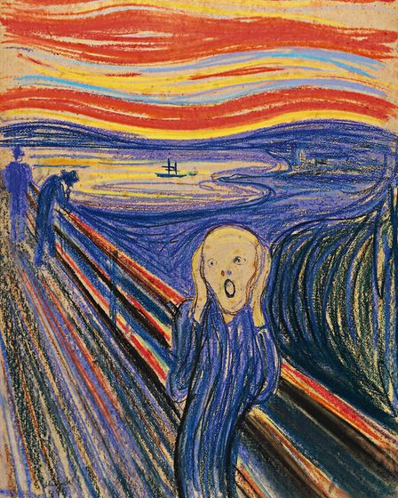The Scream by Edvard Munch is arguably one of the art world's most recognizable images. Picture: AP