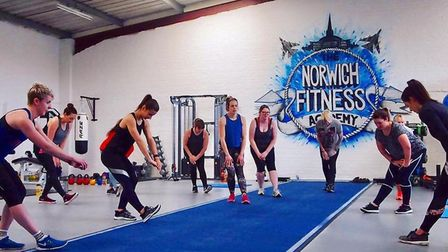Norwich Fitness Academy in action. Picture: Norwich Fitness Academy.