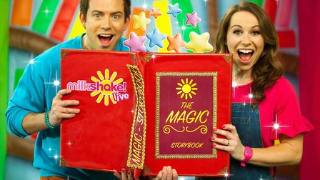 Milkshake! Live revolves around The Magic Story Book with various fairytales to be told at Norwich T