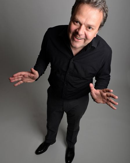 Hal Cruttenden who will be headlinging Laugh in the Park on JUly 27. Picture: Submitted