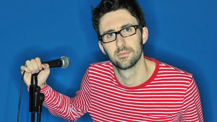 Mark Watson will lead the line-up at Laugh in the Park on July 28. Picture: Submitted