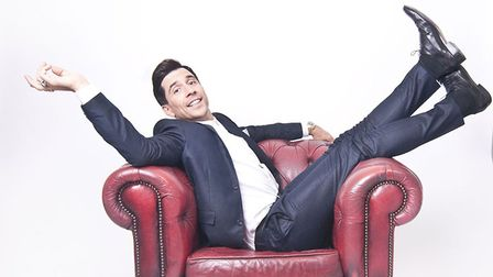 Russell Kane will be on stage at Laugh in the Park on July 30. Picture: Submitted