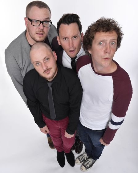 The Noise Next Door will be provdiding improv comedy fun at Laugh in the Park on July 30. Picture: S