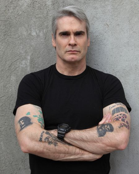 Henry Rollins who is bringing his travel slideshow to Norwich. Picture: Heidi May