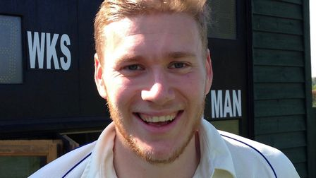 Nick Mackenzie played an important innings as Great Melton boosted their promotion bid. Picture: Ste