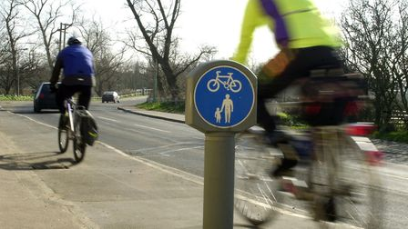 We should be encouraged to cycle, says Margaret Todd. Picture: Bill Darnell