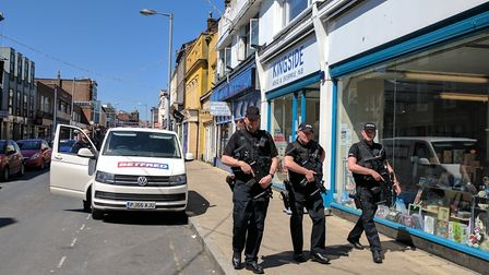 Extra armed police patrols have ended after the terror treat level was reduced to severe. Photo: Geo