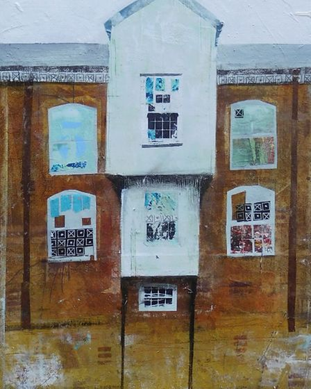 Port of Norwich Mustard Factory by Sally Hirst