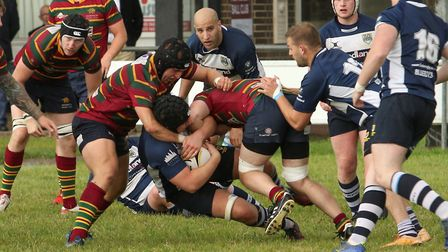 Action from Norwich's game against Chelmsford. Picture: Andy Micklethwaite