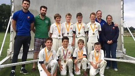 Great Melton's U11s won the Alliance Terry Moore Trophy after a superb performance against Brooke at