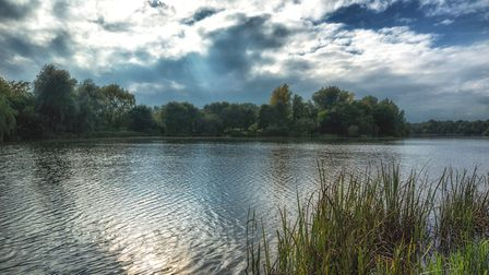 University of East Anglia lake. Picture: Paul Carver