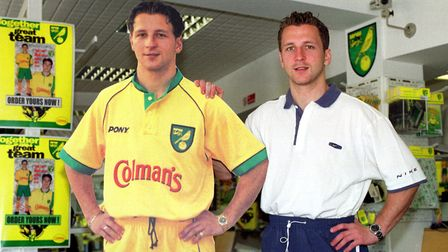 Darren Eadie with a life size cut out.