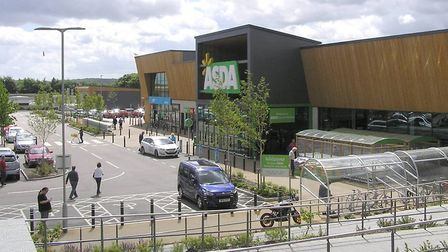 The Asda store in Hall Road. Pic: Norwich Society.
