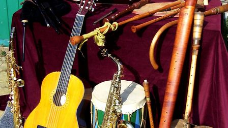 Chanter's Jigge instruments. Picture: Courtesy of Wymondham Abbey