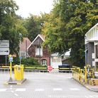 A view of the entrance at the Unilever and Robinsons squash owner Britvic site in, Carrow, Norwich.