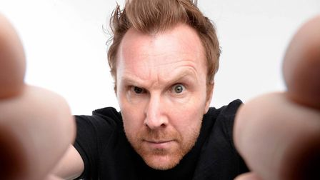 Jason Byrne brings his new show The Man With Three Brains to Norwich Playhouse on October 13. Photo: