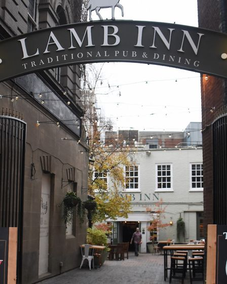 The Lamb Inn, newly re-opened after it's £350,000 refurbishment. Picture: DENISE BRADLEY